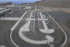 Parking at St Helena Airport
