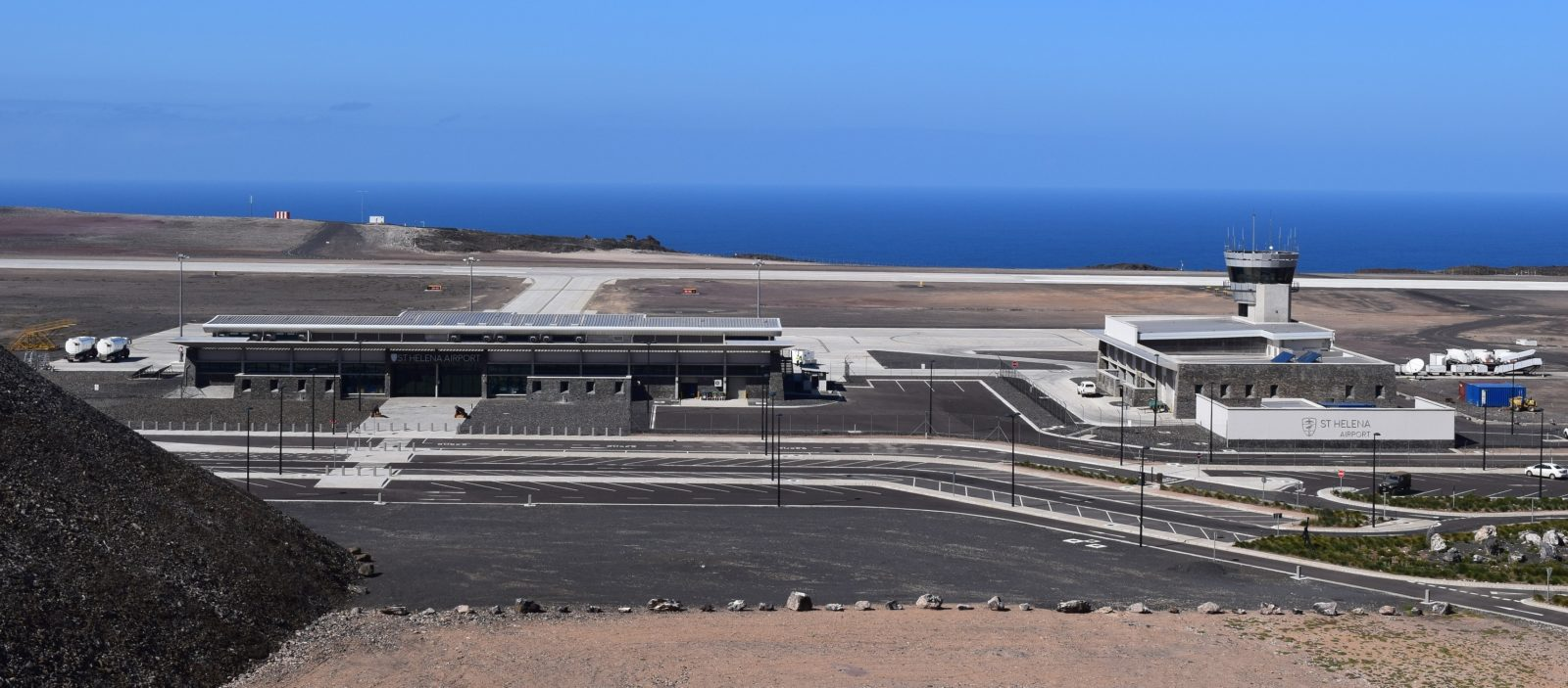 Photo of St Helena Island