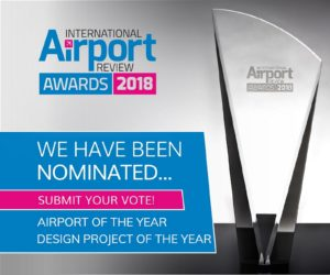 International Airport Review Awards 2018 banner