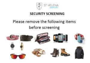 Items to remove before screening image