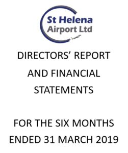 Image of the front page of the Director's Report and Financial Statements for financial year 2018/19