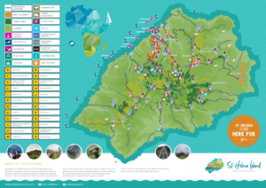 St Helena Tourist Map image - click on it to access the map